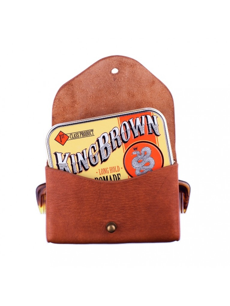 King Brown Tan Leather Holster