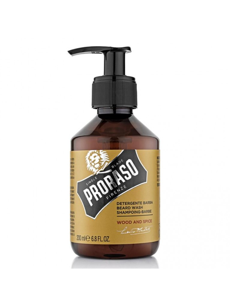 Proraso Beard Wash Wood & Spice 200ml